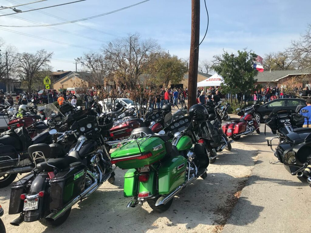 December 2019- The 31st Annual Motorcycle Toy Run