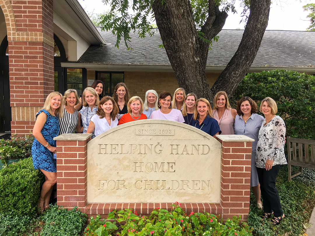 Helping Hand Home for Children leadership team