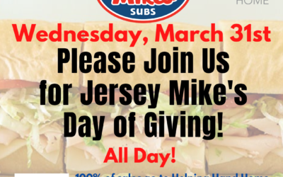 Jersey Mike's Day of Giving!