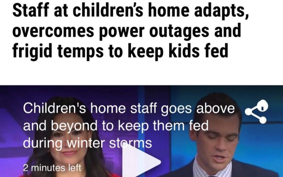 KXAN Winter Storm News Story