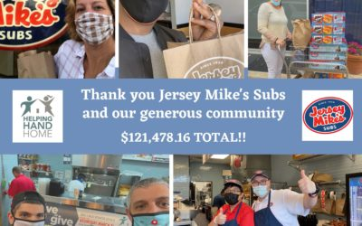 Thank you Jersey Mike's Subs!!!