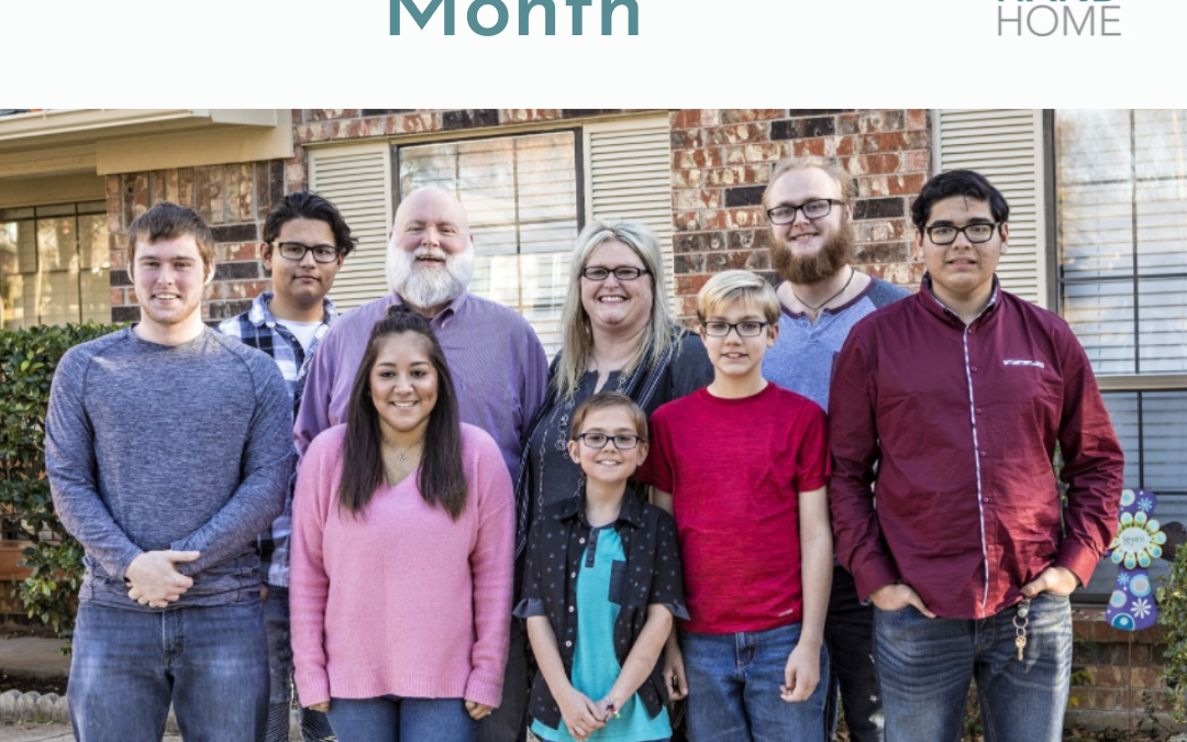 It is National Foster Care Month!